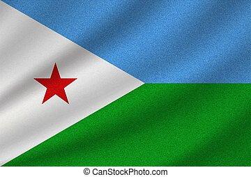 national flag of Djibouti