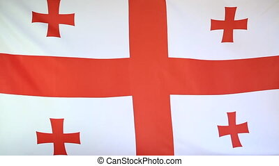 National flag of Georgia