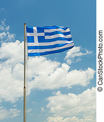 National flag of Greece country