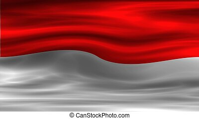 National Flag of Indonesia - National flag of Indonesia for...