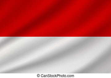 national flag of Indonesia