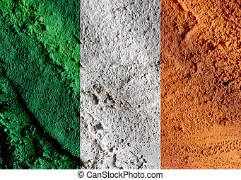 National flag of Ireland themes idea design