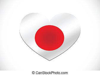 National flag of Japan themes idea
