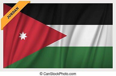 National flag of Jordan
