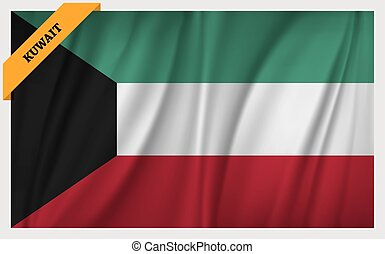National flag of Kuwait