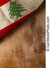 National flag of Lebanon
