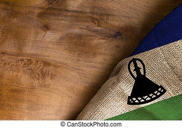 National flag of Lesotho