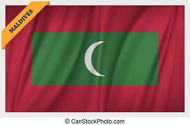 National flag of Maldives