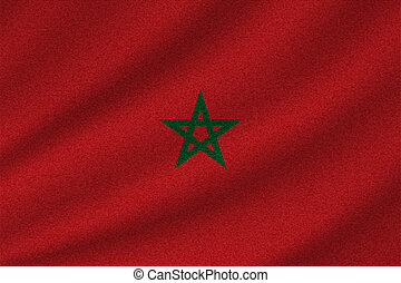 national flag of Morocco