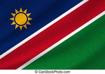 national flag of Namibia