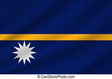 national flag of Nauru