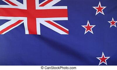 National flag of New Zealand