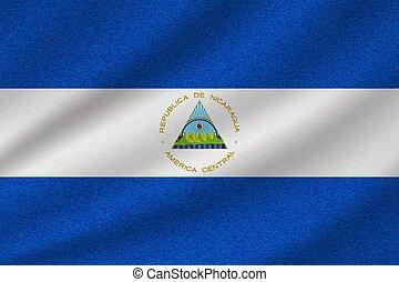 national flag of Nicaragua