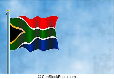 South Africa - National flag of South Africa.