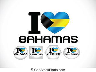 National flag of the Bahamas themes idea design