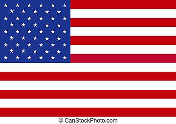 National Flag of the USA