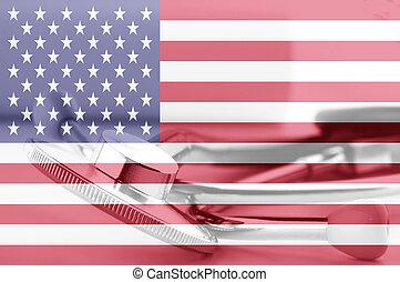 American medicine concept