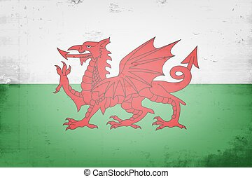 National flag of Wales