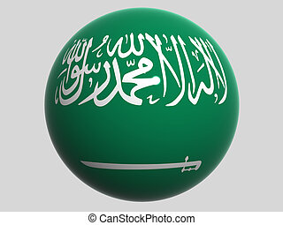 Saudi Arabia - National Flag. Saudi Arabia