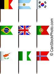 National flag set