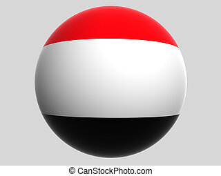 Yemen - National Flag. Yemen