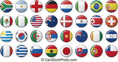 national flags of countries