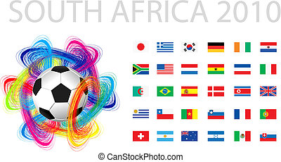 national flags of countries startin