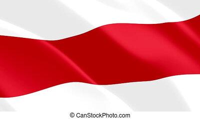national, fond, wind., fin, signe, icône, belarusian, ...