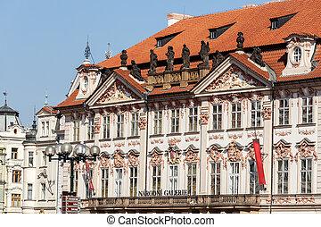 National gallery in Prague, Czech Republic
