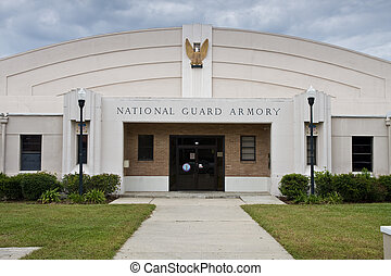 National Guard Armory - National guard armory building...