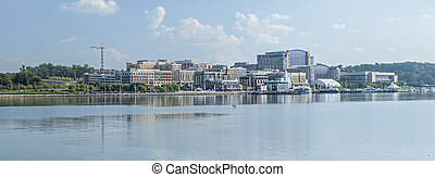 National Harbor, Maryland - Panoramic of National Harbor...