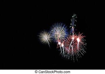 National holiday. - Celebration with Fireworks.