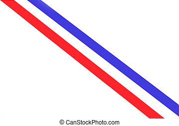 national, hollandais, couleurs, drapeau, raies