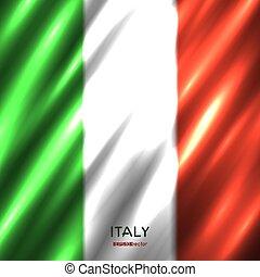 National Italian flag background
