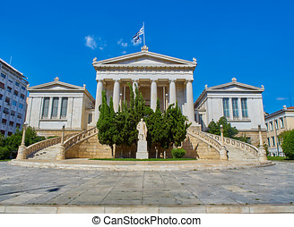 National Library of Greece. Athens, Attica. - Principal...