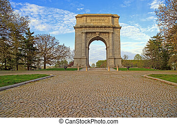 National Memorial Arch in Morning Light