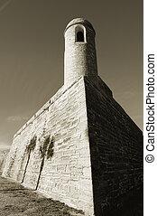 National monument Castillo de San Marcos, St. Augustine, Florida