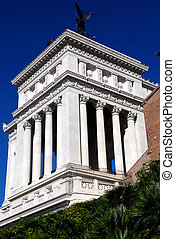 National Monument to Victor Emmanuel II, located in Rome, Italy