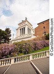 National Monument to Victor Emmanuel II or Vittoriano in ...