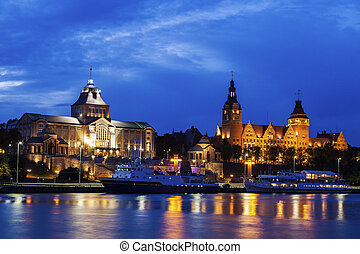 National Museum and Maritime University in Szczecin. ...