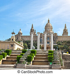 National Museum in Barcelona, Spain