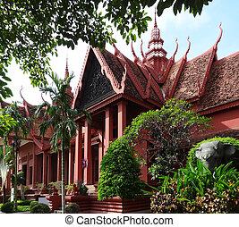 Phnom Penh - National Museum of Cambodia in Phnom Penh, the...