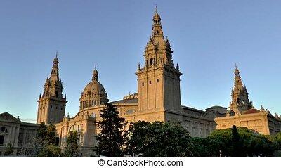 National Museum of Catalan Visual Art, Museo Nacional de Arte de Catalunia, in Barcelona, Spain.