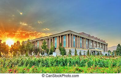 National Museum of Tajikistan in Dushanbe. Central Asia