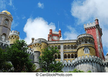 National Palace of Pena in Sintra, Portugal