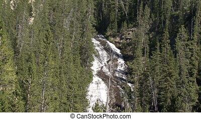 national,  Park,  Yellowstone, Wasserfälle