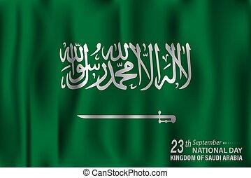 national, septembre, célébré, vacances, arabie saoudite, 23...
