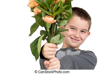 National Teacher Appreciation Day - Eight years old boy ...