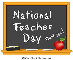 National Teacher Day, Thank You!