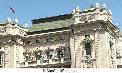 National Theatre, Belgrade 720p - National theater, Belgrade...